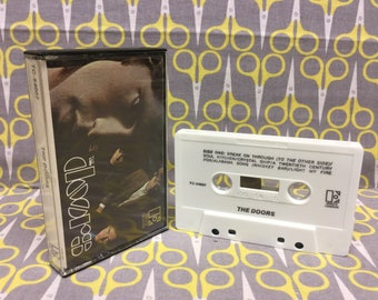 The Doors Self Titled Cassette Tape classic rock Jim Morrison