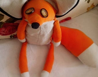 Handmade Art Doll Fox