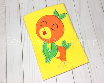 Orange bird embroidered shirt, Disney vacation shirt, Disney orange bird shirt. Sunshine terrance adventure land.
