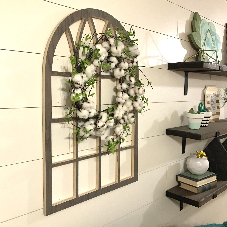 arch window frame wall decor