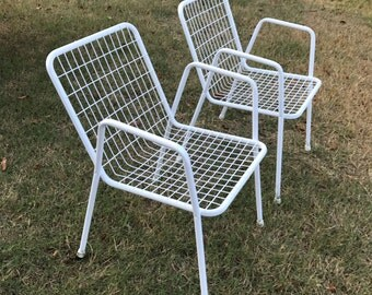 Metal Patio Furniture Etsy
