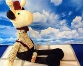 Matt Smith as 11th Doctor Who Giraffe