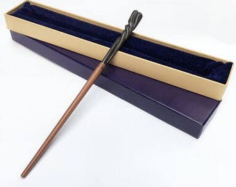 NEW! Neville Longbottom Wand (with metal core) | Advanced Edition Boxed