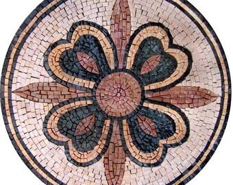 The Flower Cross Mosaic