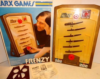 1974 Frenzy Game by Marx. MINT and complete in Excellent+ Box.