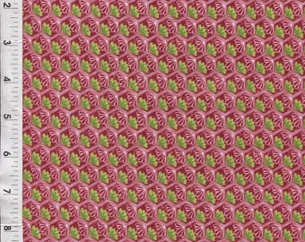 "Paintbrush Studio Ro Gregg ""Pretty in Pink"" Foulard Pink Fabric"