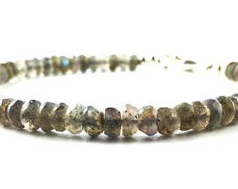 Labradorite Bracelet quality stone AA and 925 silver