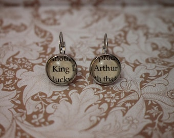 King Arthur Earrings ~ Knights Of The Round Table ~