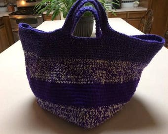 Beautiful Crochet Tote Bag