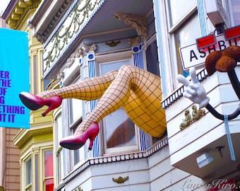 Haight Ashbury San Francisco art Shopping Home Photography Wall Decor California