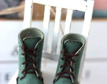 Minifee leather boots A-line (shoes, slim msd, bjd boots) 5.5 cm 1/4 BJD
