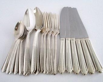 Vintage WMA Rogers AIPLUS Oneida LTD Flatware, Vintage Tableware