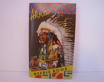 Vintage Native American Needle Book