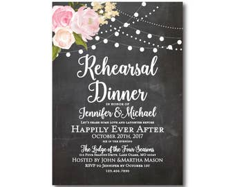 PRINTABLE Rehearsal Dinner Invitation, Rehearsal Dinner Invite, Rehearsal Dinner Invitation, Dinner Rehearsal Invitation #CL104