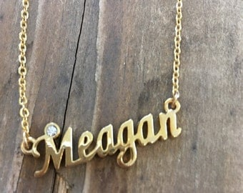 Meagan Necklace in Silver or Gold