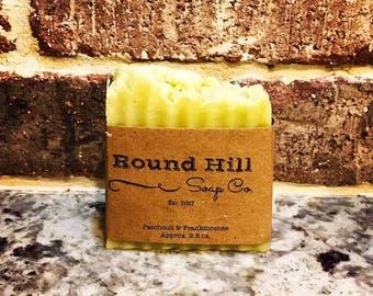 Patchouli & Frankincense Natural Shea Butter Soap