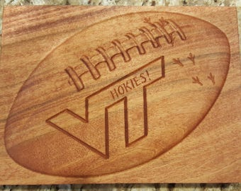 Virginia Tech Hokies Plaque