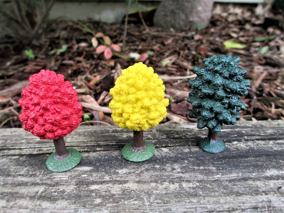 Miniature Fairy Garden Tree Set Of 3, Fairy Garden Trees, Outdoor Safe Fairy  Trees,Miniature Maple Trees Set Of 3, Mini Maple Trees Set Of 3 From ...