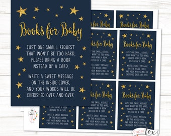 Twinkle Twinkle Little Star Baby Shower, Bring Books for Baby, Books for the Baby, Books instead of cards, Twinkle Star / INSTANT DOWNLOAD