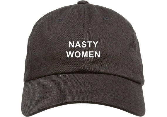 Black Dad Cap Nasty Women Barack Obama Low Profile Hat