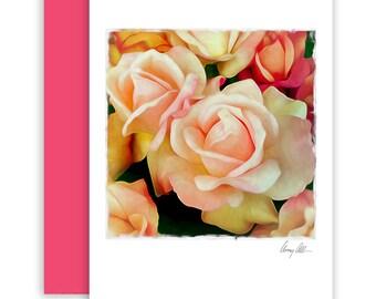 Gardens of Roses  Note cards beautiful Artwork