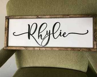 Custom Name Farmhouse Sign