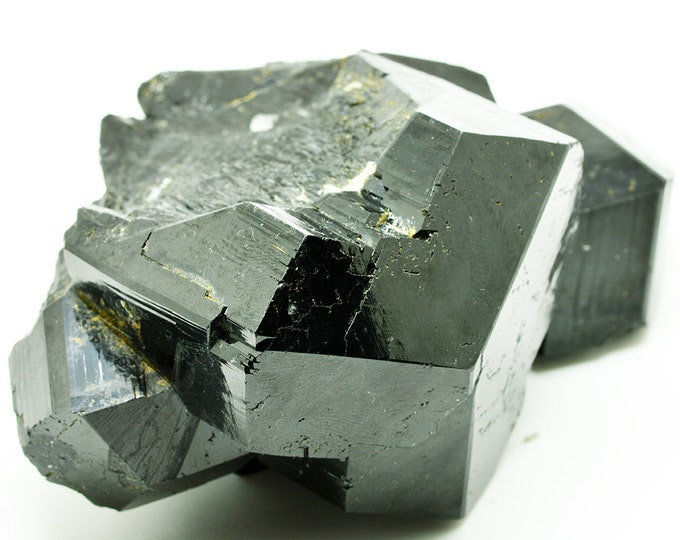 Black Tourmaline cluster with smoky quartz  BT52
