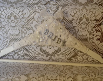 Embellished Bridal Hanger - Powertex