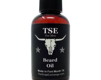 Unscented Beard Oil, Fragrance Free - Deep Conditioner, Nourishing Softener, Natural Ingredients, Made in USA by The Soap Exchange ®