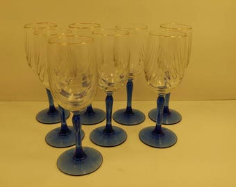 Etsy your place to buy and sell all things handmade - Lenox gold rimmed wine glasses ...