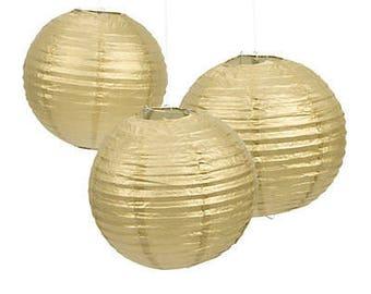 3 / Gold Lanterns