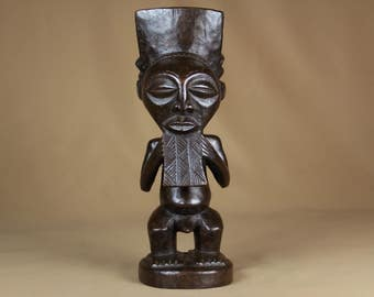 Old African statue - Songye tribe from the Democratic Republic of Congo