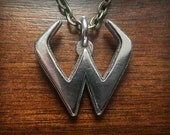 Overwatch Widowmaker Stainless Steel 3D Printed Pendant and Keychain
