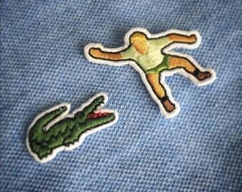 1# Crocodile Hunter (Lacoste Crocodile not included)