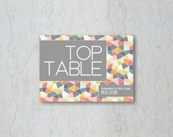 Geometrics Table Name