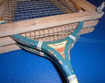 Vintage Wright Ditson Badminton Racquets . Pair of Comet Badminton Racquets.  Badminton . Vintage Badminton.  Racquet