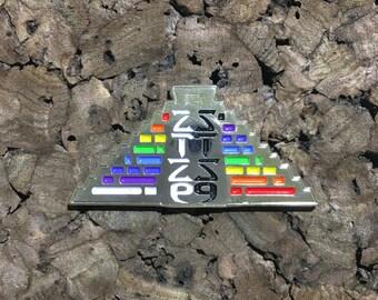 STS9 Pyramid Pin(SILVER)