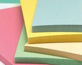 Recycled A3 Pastel Card Mix 180gsm Five Pastel Shades Card Stock Choose Quantity