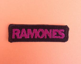 Ramones Iron-on Patch