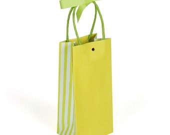 Lime Green Gift Bags - 30 pack