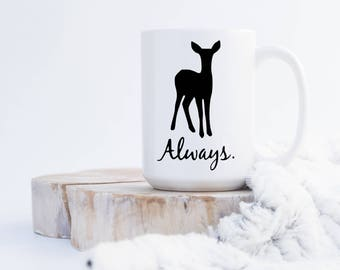 Harry Potter Always Doe/Deer Mug -023