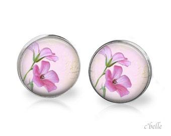 Ear studs of pastellener cherry blossom 12