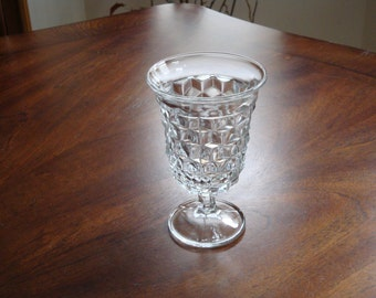 Fostoria AMERICAN Low Stem 5-1/2 inch Replacement Water Goblet (3 Available)!