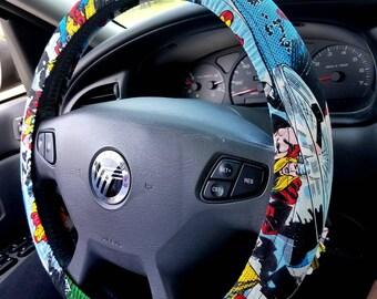 Marvel Steering Wheel Cover