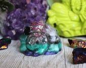 Orgone Seashell - Orgone Energy - Seashell - Fibonacci - Beach - Good Vibes - Crystal Seashell - HoodXHippie - Mermaid - Quartz - Handmade
