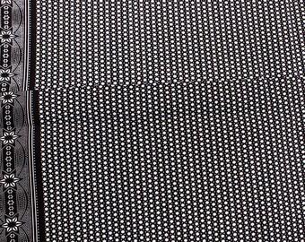Black & White Super Star Fabric