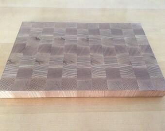 Ash End Grain Cutting Board