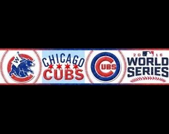 Chicago Cubs World Champion Dog Collar!!!