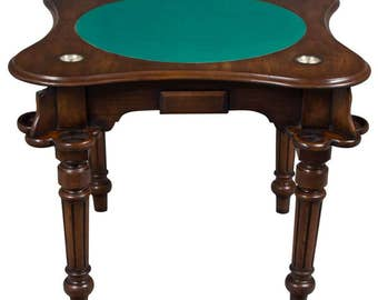 Antique English Game Table
