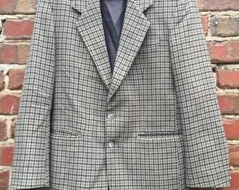 Men's Vintage Harris Tweed Jacket Size 40